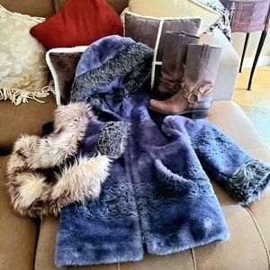 Gorgeous Warm Furry Nordic Winter Coat
